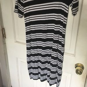 Michael Kors Jersey knit dress-striped